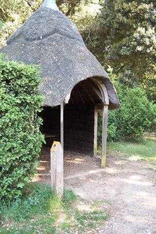 Albana walk shelter