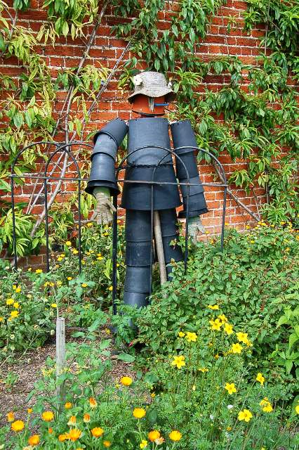 Wimpole Hall scarecrow