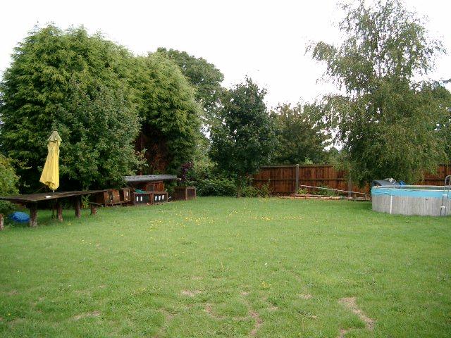 Garden main view - before
