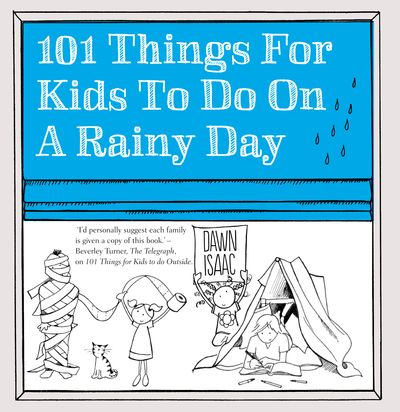 101 Things for Kids to do on a Rainy Day Cover
